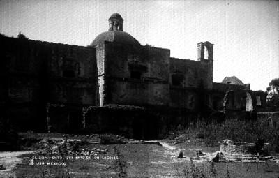 """El Convento en el """"Desierto de los Leones"""", vista general"""