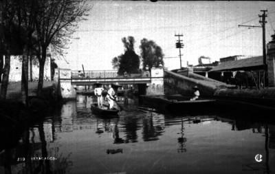 Canal de la Viga en Iztacalco