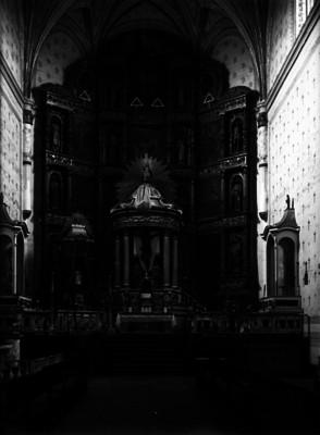 Retablo de la iglesia franciscana
