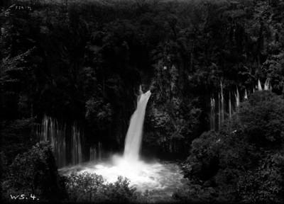Cascada Zararacua, vista parcial