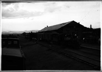 Estación de ferrocarriles de Silao, panorámica