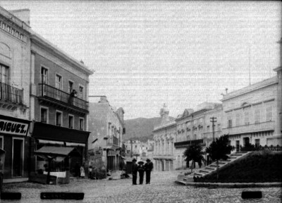"""Calle en """"Guanajuato"""", vista general"""