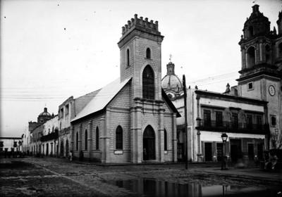 Templo presbiteriano, fachada