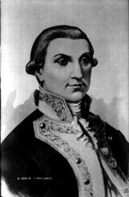 """""""D. José de Iturrigaray"""", reprografía"""