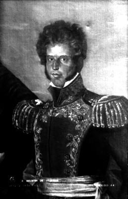 D. Agustín de Iturbide, litografía