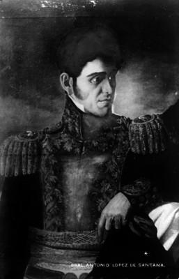 Gral. Antonio López de Santana, retrato