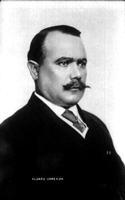 Alvaro Obregón, retrato