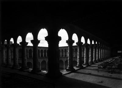 Vista parcial del claustro del ex-convento de La Merced