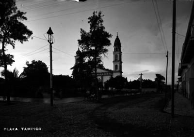 Vista de la Plaza Tampico