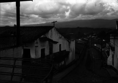 Vista de una calle de Jalapa