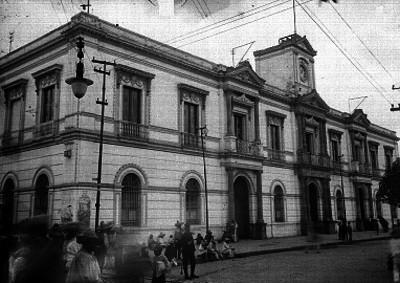 Palacio de Gobierno de Toluca, exterior