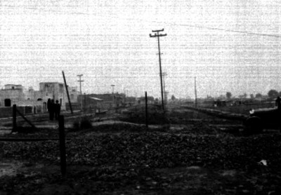 Construcción de la avenida División del Norte