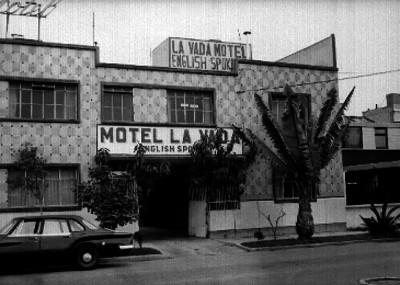 Hotel La Vada en la Ciudad de México, fachada