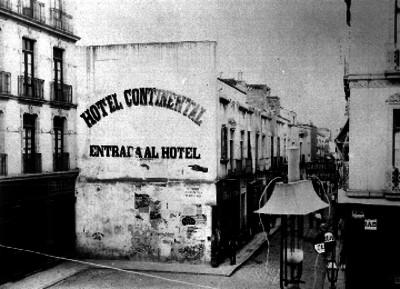 Hotel Continental en la calle de Palma, vista parcial