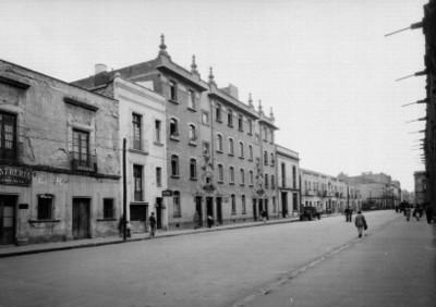 Edificios de la Calle de Mesones, en la Cd. de México