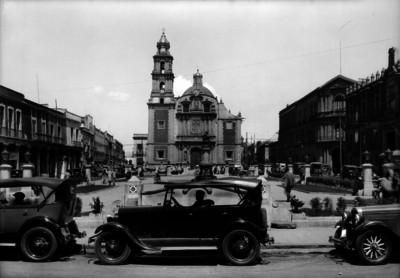 Plaza de Santo Domingo, vista general