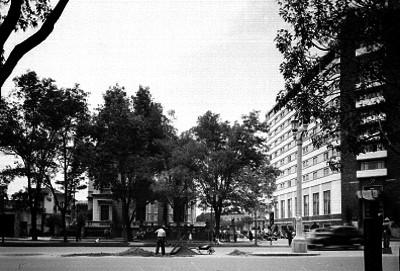 Hotel Reforma en la esquina de las calles Paseo de la Reforma y París