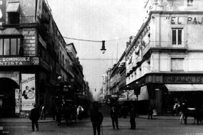 Avenida Madero en la Ciudad de México, vista general