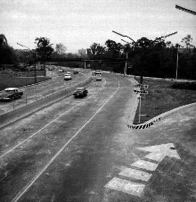 Periférico de avenida Manuel Ávila Camacho y Paseo de la Reforma, vista general en picada