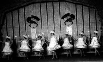 Bailarinas en escena