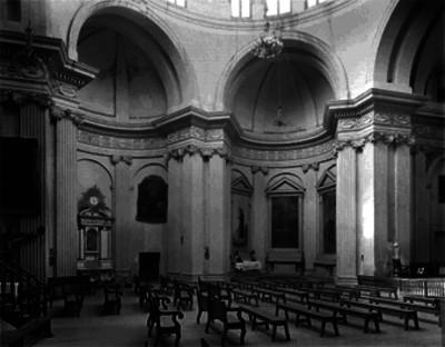 Iglesia de Loreto, altares laterales, detalle