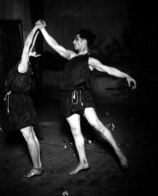 Bailarines en escena