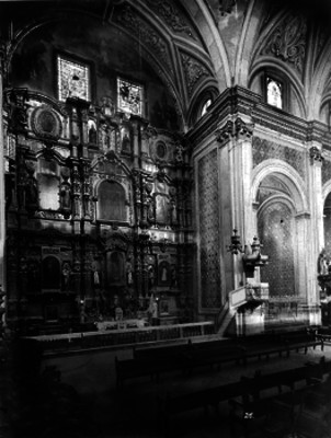 Iglesia de Santo Domingo, retablo lateral