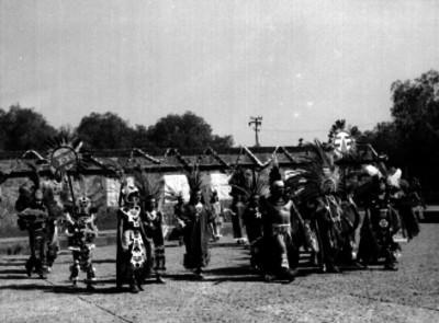 Danzante en el Anahuacali