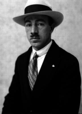 Joaquín Zamacona operador experto radiotécnico, retrato