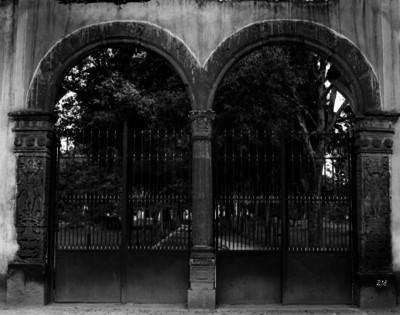 Convento de Coyoacán, Puerta de ingreso al atrio