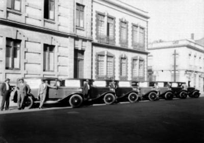 Trabajadores del volante y sus vehiculos