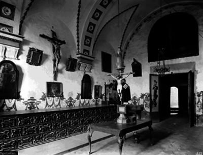 Sacristía de la Iglesia de San Francisco Javier