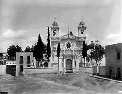Iglesia de Santa Cruz, Fachada principal