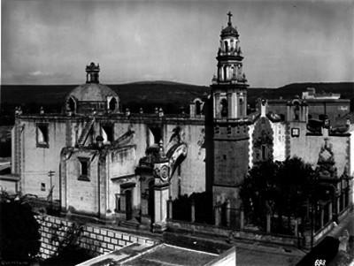 Iglesia del Sagrario, Vista de conjunto