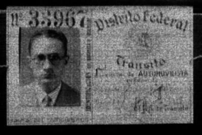 Rafael Blane Ojeda, retrato de licencia de conducir