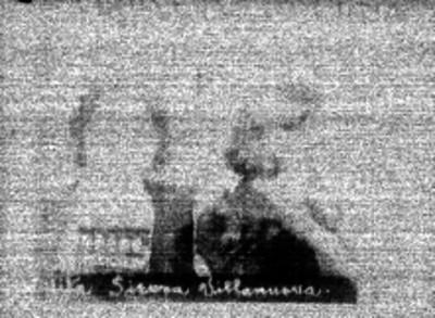 Vita Sierra Villanueva, delincuente, fotografía de filiación carcelaria
