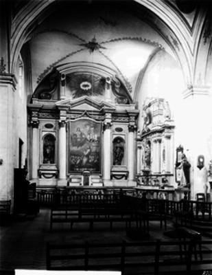Iglesia del Tercer orden, Altar lateral