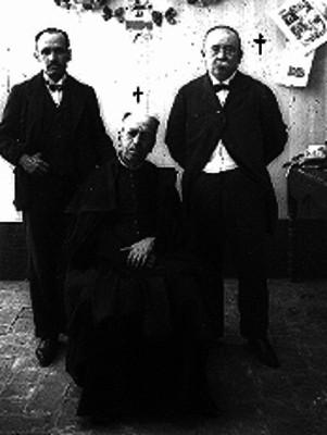 Andrade y Victoriano Agueros, retrato