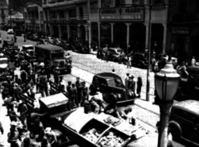 Vida cotidiana de una calle de la ciudad de México