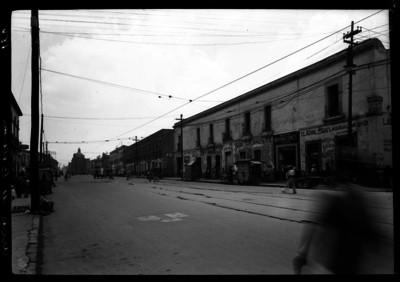 """Avenida """"Arcos de Belem"""", vista desde la calle Dr. Vertiz"""