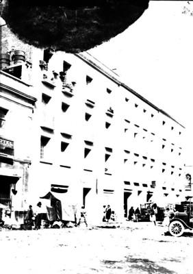 Vista de calle en la ciudad de México