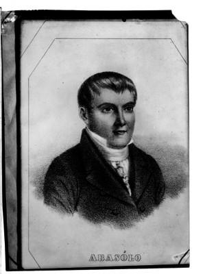José Mariano Abasolo, militar, litografía