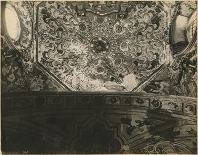 Capilla Doméstica, detalle de la Bóveda