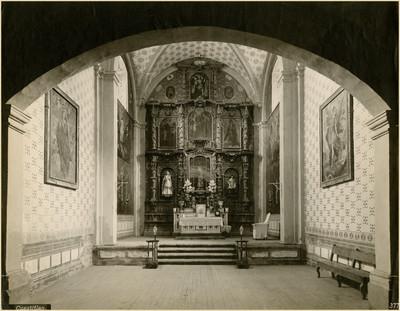 Altar de la capilla del Sagrario