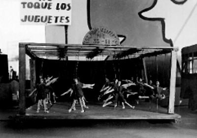 Teatro de títeres de la Escuela Primaria Vespertina N°35-11