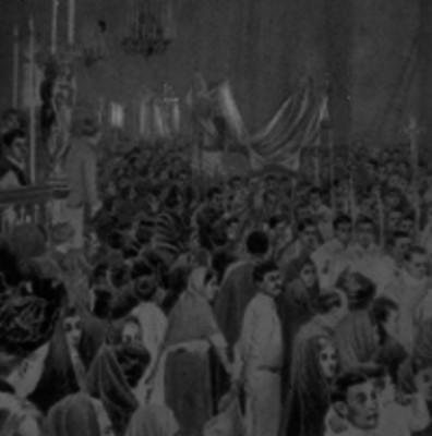Procesión de Corpus Cristi en la Catedral