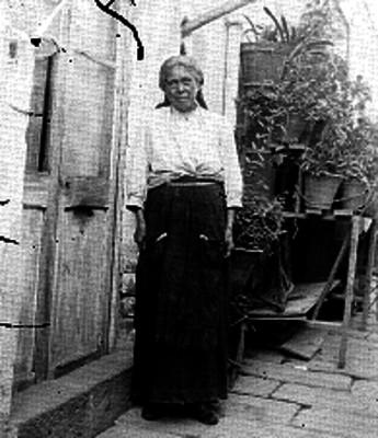 Trabajadora doméstica, retrato