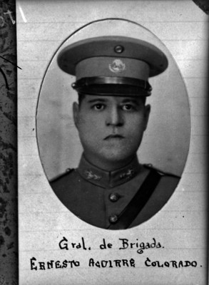 General de Brigada Ernesto Aguirre Colorado, retrato