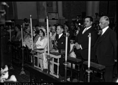 """""""Benjamín Alamillo Flores"""" durante su boda religiosa"""
