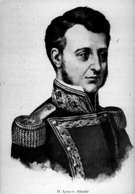 Ignacio María Allende, litografía